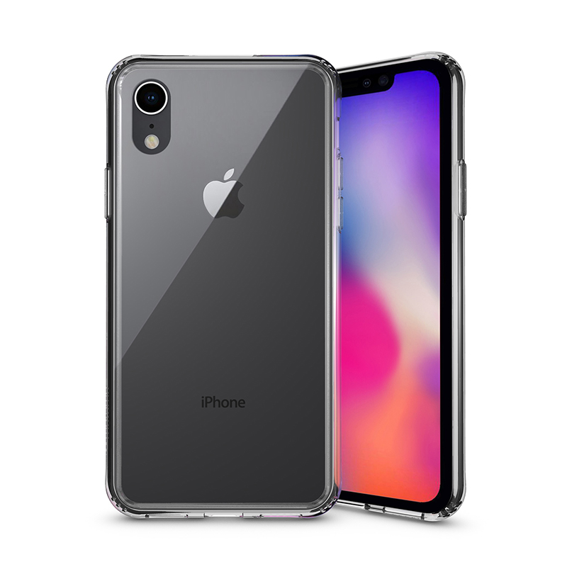 INO TEMPERED GLASS CASE for iPhone XR