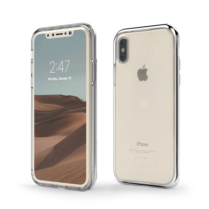 INO LINE INFINITY Clear Case for iPhone X