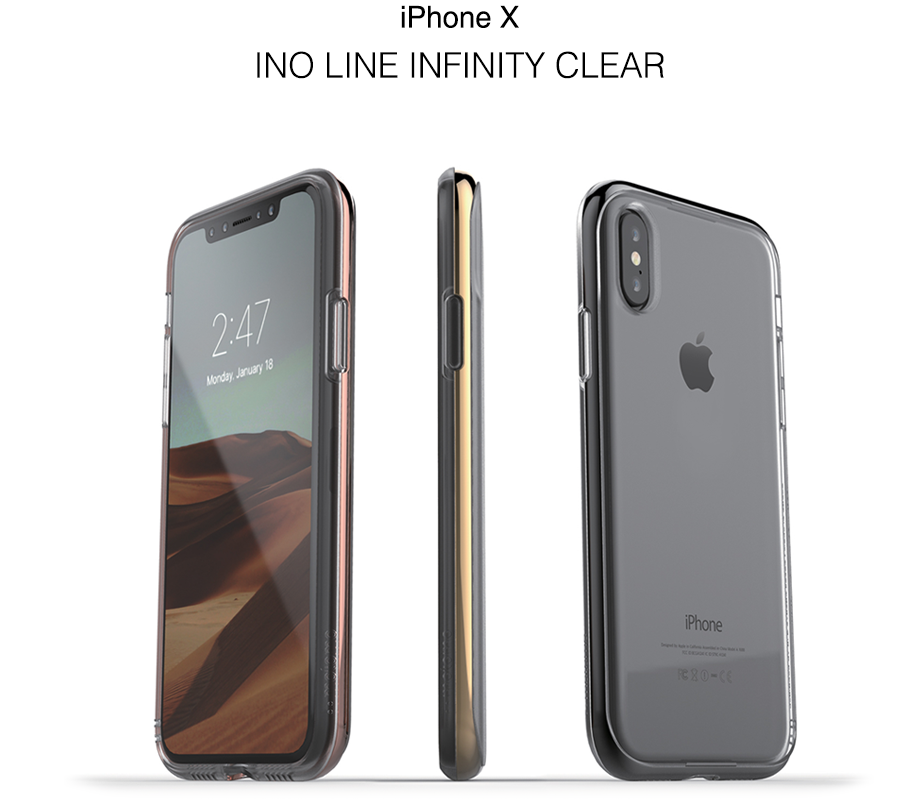 iPhone X INO LINE INFINITY CLEAR